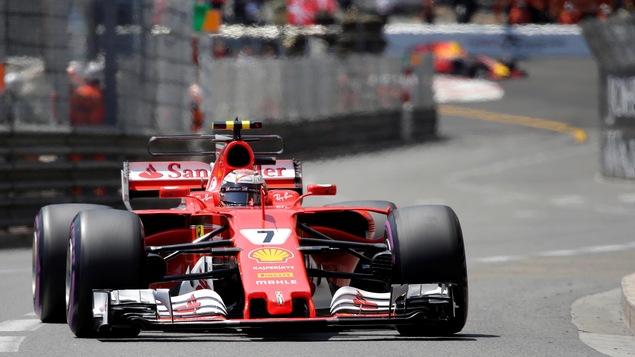 Kimi Raikkonen a signé le meilleur temps de la qualification à Monaco, samedi