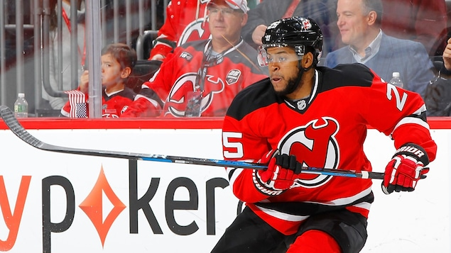 Devante Smith-Pelly avec les Capitals