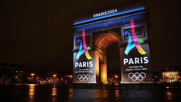 Paris dévoile son logo pour les jeux olympiques de 2024.