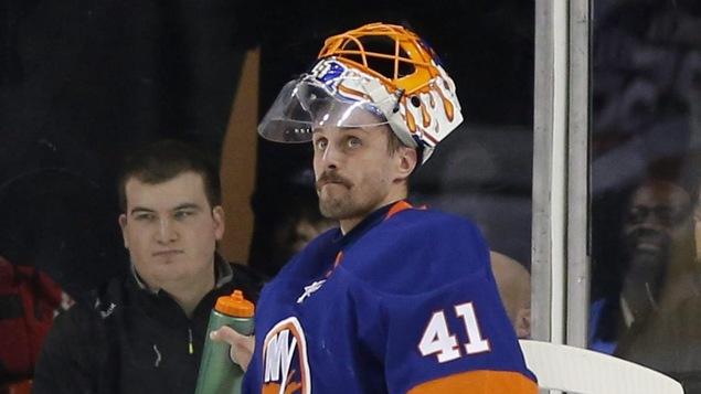 Le gardien slovaque Jaroslav Halak a été rappelé par les Islanders de New York