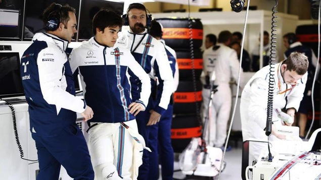 James Urwin et Lance Stroll