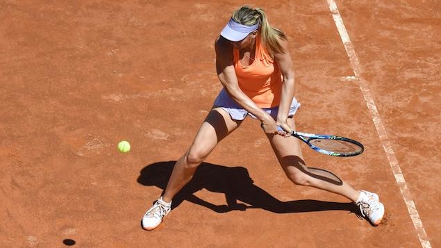 WTA Rome - Maria Sharapova abandonne au deuxième tour face à Lucic-Baroni