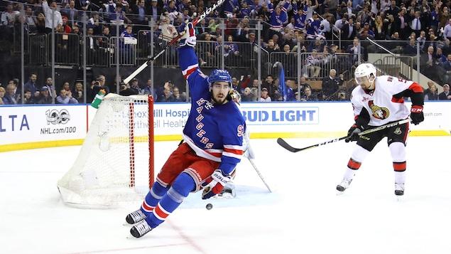 Mika Zibanejad trouve un accord — NY Rangers