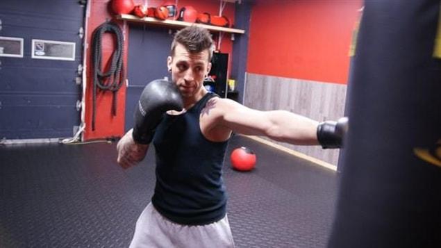 Le boxeur Mike Breton