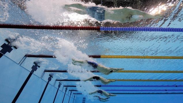 Le relais quatre nages masculin aux Jeux olympiques de Rio