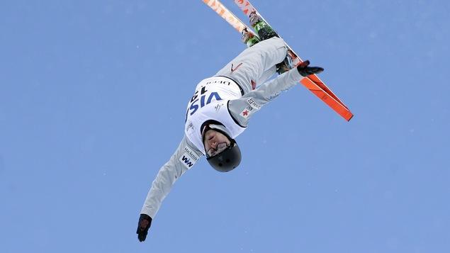 Le skieur acrobatique Olivier Rochon