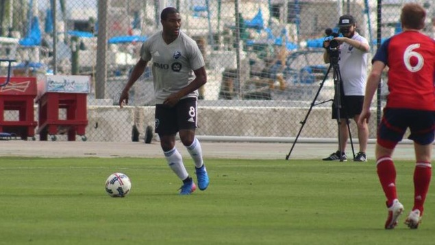 Patrice Bernier en action