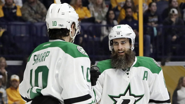 Patrick Sharp et Patrick Eaves