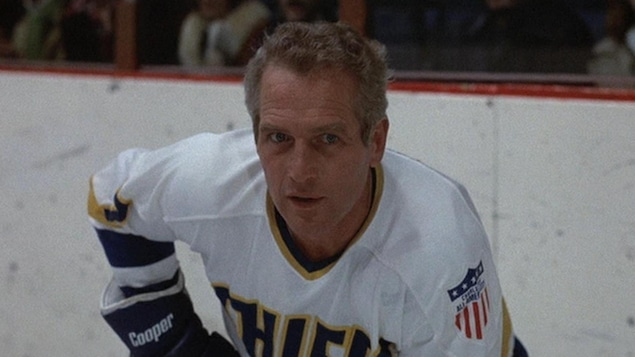 Paul Newman dans le rôle de Reggie Dunlop dans Slap Shot
