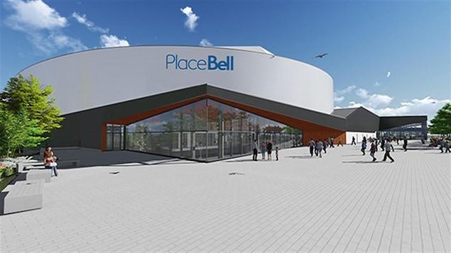 La future Place Bell