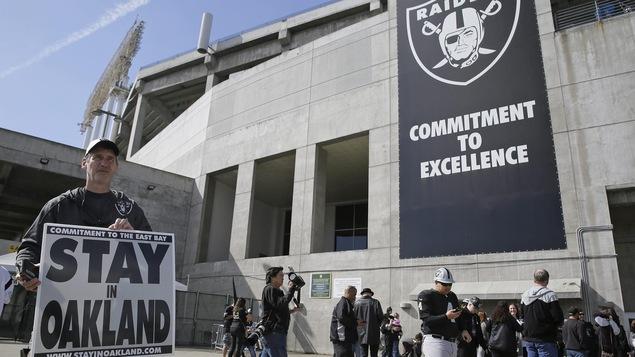 NFL : Les Raiders d'Oakland s'installent à Las Vegas