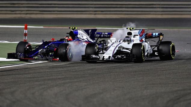 Carlos Sainz et Lance Stroll à Bahreïn