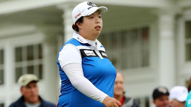 Trump spectateur de l'US Open féminin disputé sur l'un de ses golfs