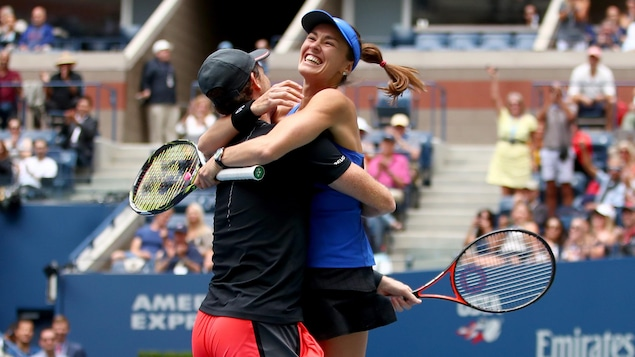 US Open: Martina Hingis remporte son 24e titre du Grand Chelem