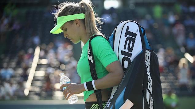 La joueuse de tennis, Eugenie Bouchard