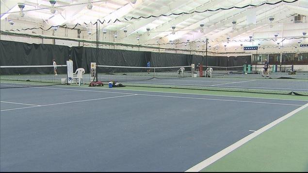 Intérieur des Tennis de Rimouski