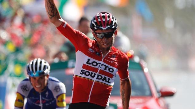 Tour d'Espagne: succès de Marczynski, Froome reste en rouge