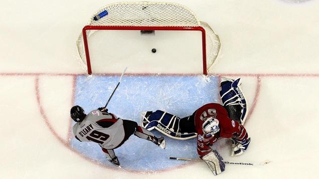 Un match de l'United States Hockey League