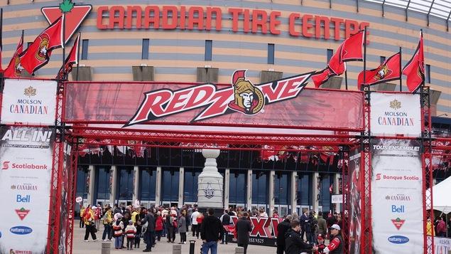 La Zone rouge à Ottawa
