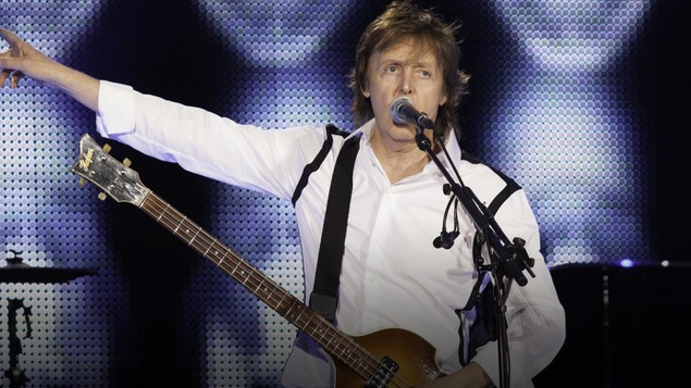 Paul McCartney en spectacle