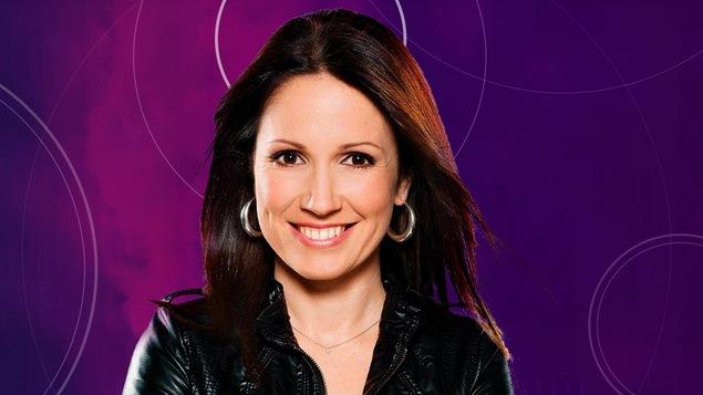 France Beaudoin, animatrice de l'émission En direct de l'univers