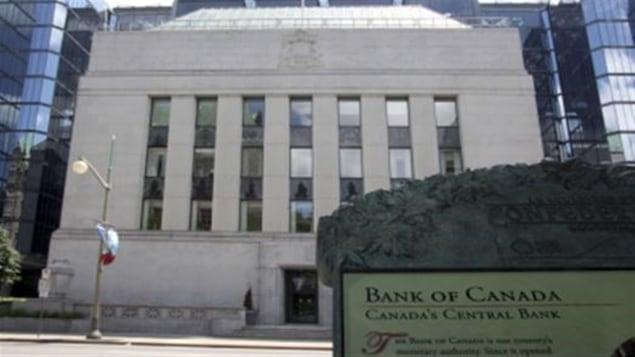 La Banque du Canada laisse ses taux inchangés