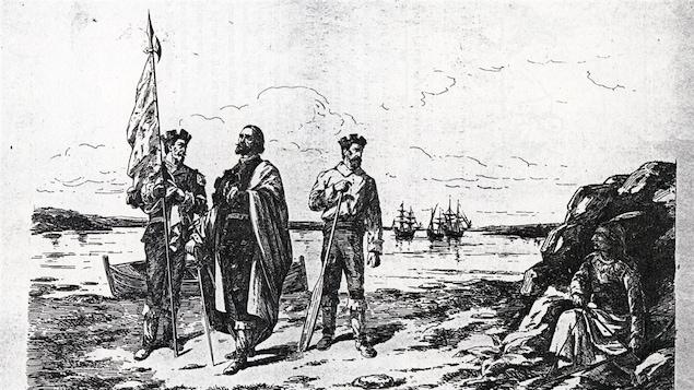 La découverte du Canada, par Dyonnet et Beullac
