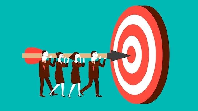 Des publicitaires qui veulent atteindre leurs objectifs.
