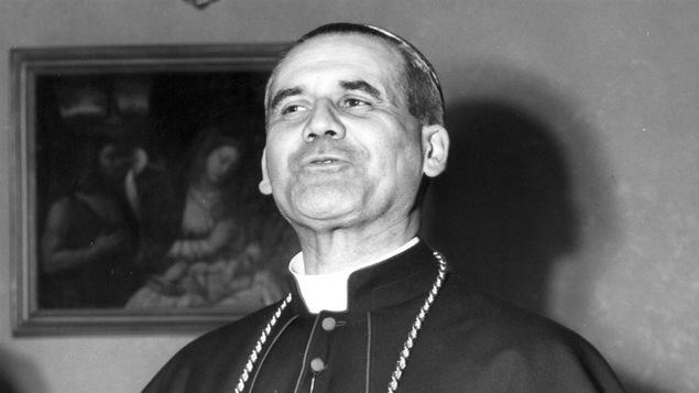 Le cardinal Paul-Émile Léger en 1952