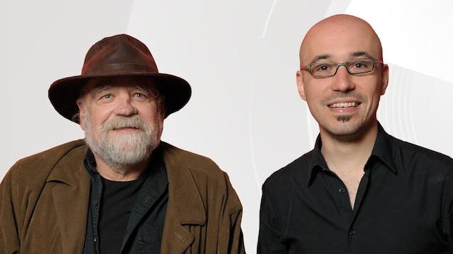 Serge Bouchard et Jean-Philippe Pleau