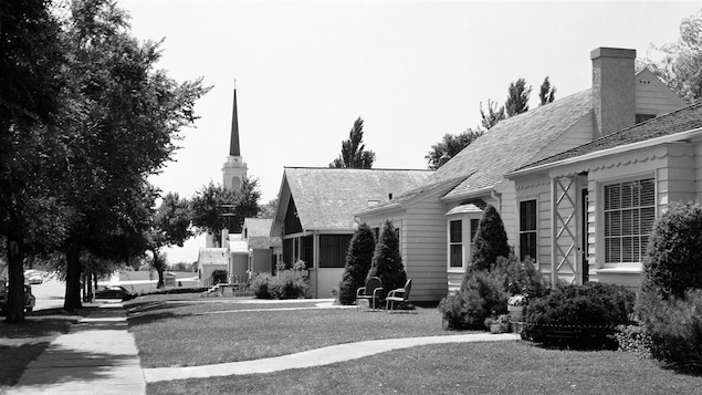 Une banlieue américaine des années 50