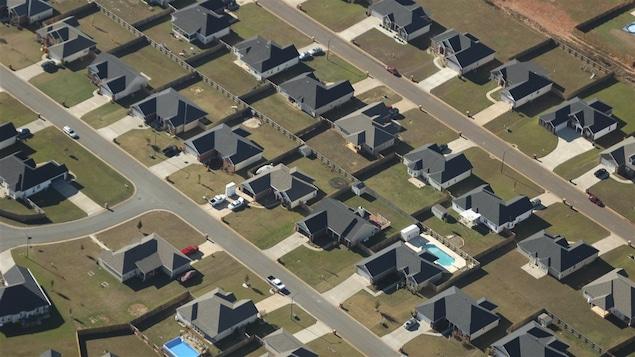 Un quartier construit sur de riches terres agricoles