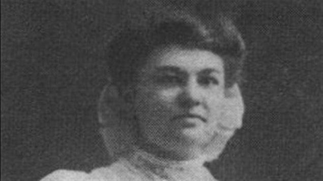 Donalda Charron en 1912, âgée de 25 ans