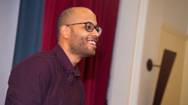Le rappeur et historien Aly Ndiaye, alias Webster