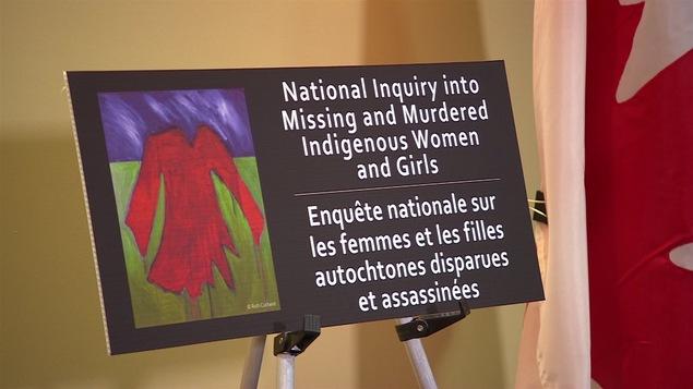 Enquête nationale sur les femmes autochtones disparues ou assassinées