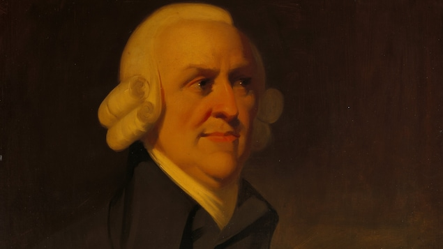 Tableau représentant Adam Smith