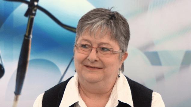 Mme Caroline Fortin, présidente du Mouvement Retrouvailles