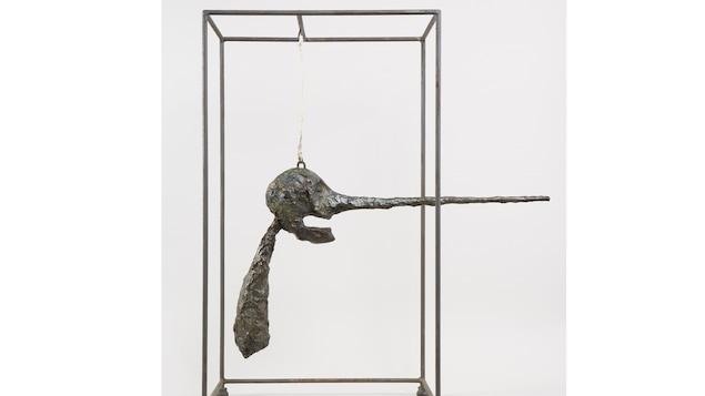 Alberto Giacometti, Le Nez, 1947. Bronze, 80,9 x 70,5 x 40,6 cm