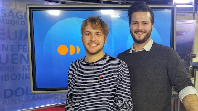 Alex Dinet et Jérôme Boudreau