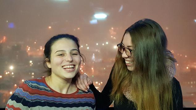 Alyson Roussel et Marie-Luc Raby étudiantes complices en ATM au Cégep de Jonquière