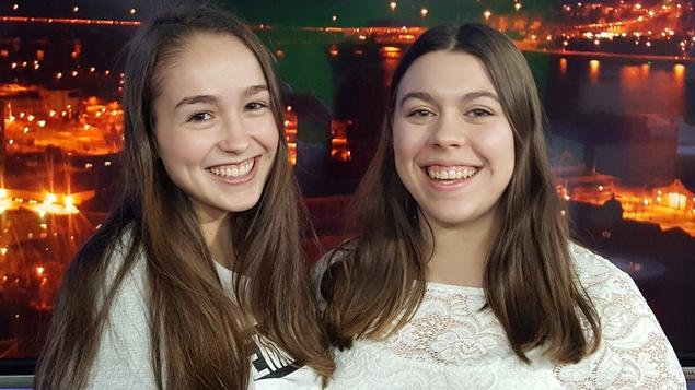 Anabelle St-Pierre et Maude Laroche, étudiantes en troisième année en Art et technologie des média au Cégep de Jonquière