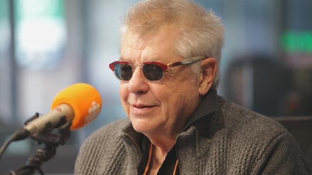 André Forcier en studio