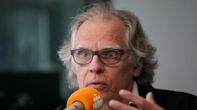 André-Philippe Côté, en studio