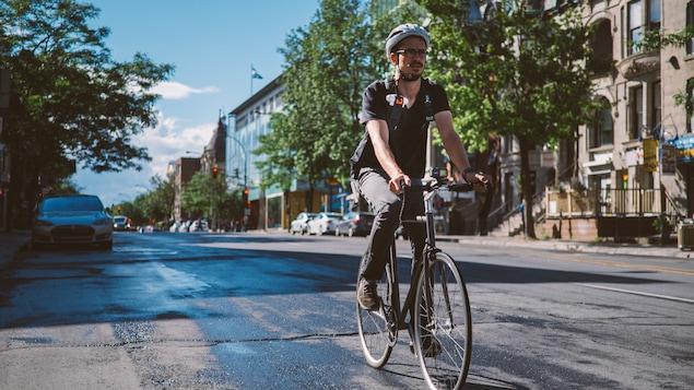 L'équipe de Philippe Apparicio a réalisé une  cinquantaine de trajets dans les rues de Montréal pour réaliser son étude.