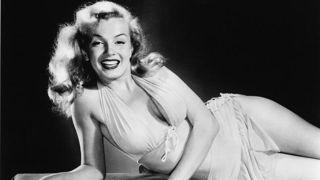Marilyn Monroe, janvier 1950