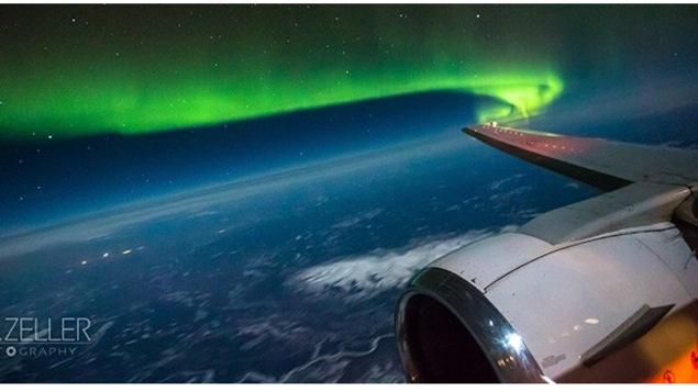 La compagnie aérienne Air North propose des vols pour voir les aurores boréales
