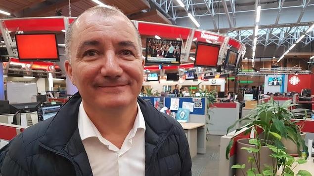 Christophe Gargot, délégué académique de l'académie de Aix Marseille/Nice
