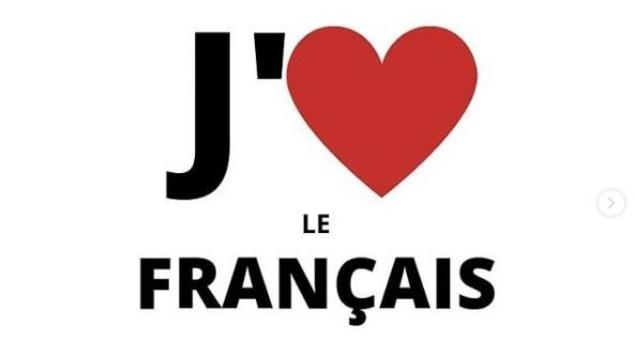 Une affiche du groupe Le français pour l'avenir