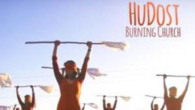 Le duo HuDost au festival Island Folk