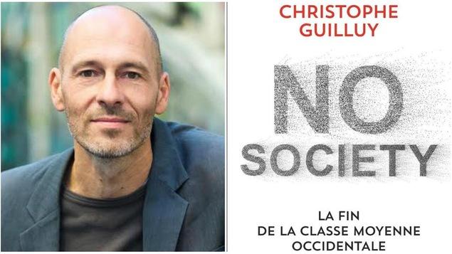 Christophe Guilluy est l'auteur de <i>No society. La fin de la classe moyenne occidentale.</i>